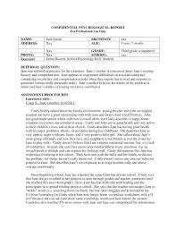 psychology case study template 43 school psychologist report template 1000 images about school