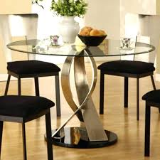 42 round glass top dining table sets round glass dining table s inch glass top dining