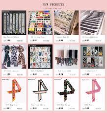 2019 New <b>Geometric</b> Floral Print <b>Silk Scarf Women Luxury</b> Brand ...