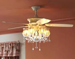crystal chandelier light kit for ceiling fan edrexco intended for awesome household pink chandelier ceiling fan ideas