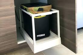 Garbage Can Cabinet Trash Insert Kitchen Bin Cabinets  Drawer Parts13