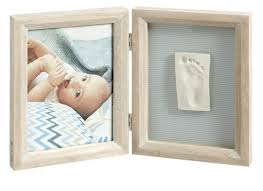 <b>Baby Art Рамка двойная</b> Классика беленое дерево - Акушерство.Ru