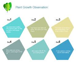 Plant Growth Observation Chart Plant Growth Observation Chart Free Plant Growth
