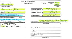 Surc Accounting | Expense Forms