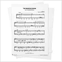 Print and download star wars: Star Wars The Mandalorian Main Theme Sheet Music From Star Wars The Mandalorian Piano Solo From Musicnotes Star Wars The Mandalorian Ludwig Goransson Amazon Com Books