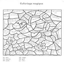 Cool Coloriage Magique Tables De Multiplication Coloriages