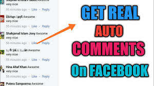How to Get Real Auto Comments on Facebook 2019   Fb Auto comments ...