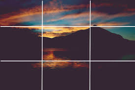 rule of thirds photography vertical. Notice How The Peak Is Just About At Intesection Of Vertical Third And Horizontal As Sunset. Remember, Rule Thirds Not An Iron Photography N