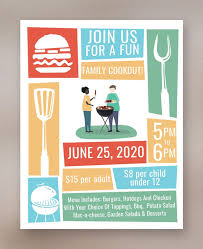 20 Fabulous Cookout Flyer Templates Word Psd Vector Eps