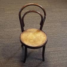 childs bentwood chair by fischel