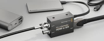 Blackmagic Design Hdmi To Sdi 6g Mini Converter Blackmagic Design Announces Powerful New 6g Sdi Mini