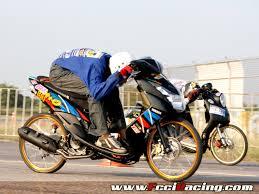 wallpaper drag bike moped mio