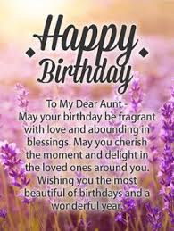 I Wish You All The Love Happy Birthday Wishes Card For Aunt With