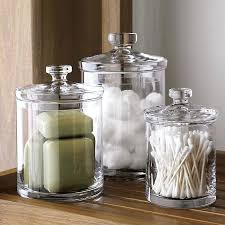 Bathroom Canister Set New Bathroom Canisters Bath Canisters Bathroom Apothecary Jars Set Of 32