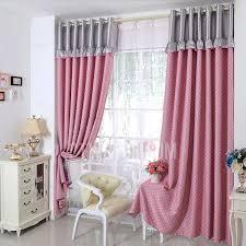 Cute Polka Dots Girls Bedroom Oriental Curtains