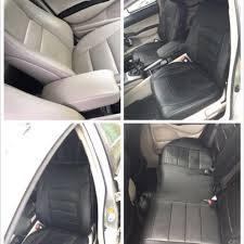honda civic fd pu leather seat cover customise car accessories on carou