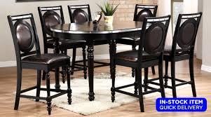falcon pub table 4 chair set