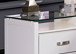 glass top nightstand. Fine Glass Homelegance Lyric Night Stand With Tempered Glass Top For Nightstand W