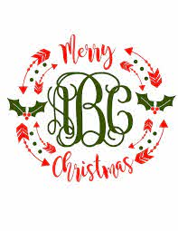 Enjoy straightforward pricing and simple licensing. Excited To Share The Latest Addition To My Etsy Shop Merry Christmas Svg Christmas Svg Ch Christmas Monogram Shirt Christmas Monogram Monogram Shirts Vinyl