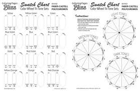 Various color wheels show primary colors, secondary colors and tertiary this is a worksheet on the color wheel. Color Wheel Tri Tone Sets Worksheets