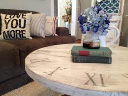 diy round coffee table plans