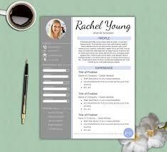 Professional Resume Template Free Download. Graphic Designer Resume ...