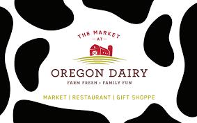 oregon dairy gift card
