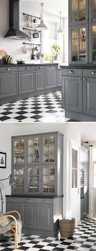 gray kitchen ikea