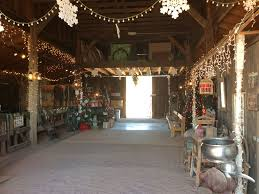 Christmas Decorating in the Apacheland Barn. Ready for Christmas!