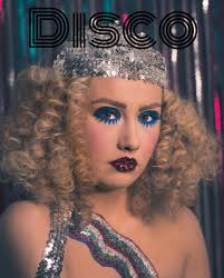 disco glam makeup 70s afro hair biba fever twiggy s