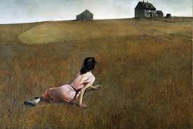 christina s world andrew wyeth i see this painting wyeth s style in