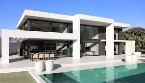 The Arch house - sleek extra large villa for plots with panoramic views -  from 950k