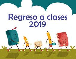 Resultado de imagen de inicio de curso 2019
