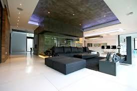 Large Living Room Minimalist Home Bay Window Seating Ideas Black Metallic Frame