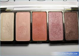 h m smoky pink eyeshadow palette review 3