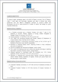Trainee Chartered Accountant Resume Sales Accountant Lewesmr