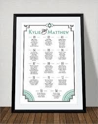 printable seating chart template for wedding