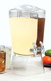drink dispenser 3 gallon double 3 gallon 3 gallon glass beverage dispenser with spout 3 gallon