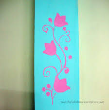 i am lucky stencil painting on wall art stencils for painting with wall art handmade stenciling a try m de by lakshmi