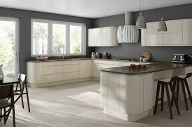 Cream Gloss Kitchen Glossy Cream Kitchen Cabinets Google Search Ideas For The