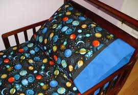 outer space planets baby toddler bedding fitted sheet with il full