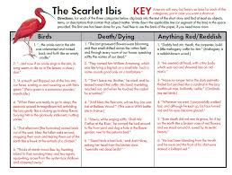 example about scarlet ibis essay essay about the scarlet ibis wordpress com