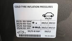 Volkswagen Touareg Tyre Pressure Carsguide
