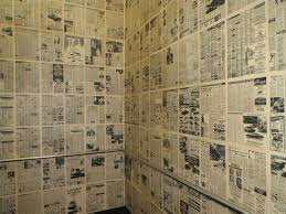 newspaper wallpaper australia print hall newspaper walls