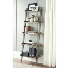 Corner Shelves At Walmart Corner Ladder Shelf Short Corner Shelf Pair Black Three Tier 85