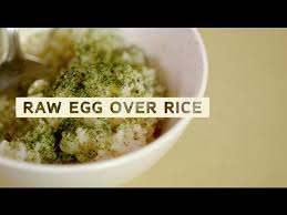 Taste Memories: How To Make Raw Egg Over Rice With Ivan Orkin - YouTube