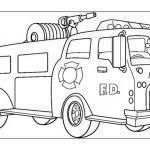 Migliore 20 Camion Dei Pompieri Da Colorare Aestelzer Photography