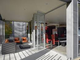 perfect tri fold glass door sparkling tri fold doors with wood table glass door black framed
