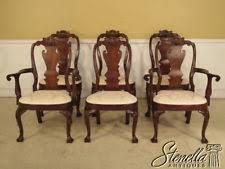 Mahogany Queen Anne Style Chairs