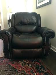 reclining sofa used power leather recliner for in havertys recl